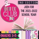 MENTOR TEXT CLUB by Jivey 2ND EDITION for Grades 3-5