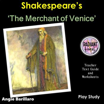 MERCHANT OF VENICE- Teacher Text Guides & Worksheets