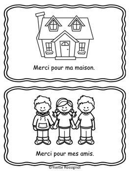MERCI! (Petit livre pour dire MERCI) Action de Grâce, Gratuit, French Free