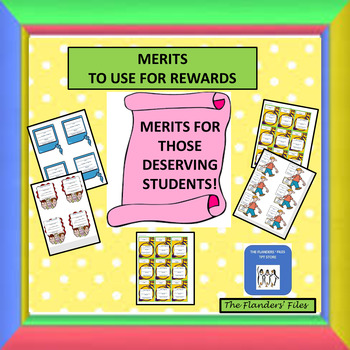 MERITS TO USE FOR REWARDS