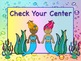 MERMAID Themed Station/Center Signs FIN-TASTIC! Great Classroom Management!