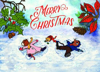 MERRY CHRISTMAS! Christmas card download
