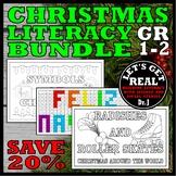 CHRISTMAS LITERACY BUNDLE FOR GRADES 1-2