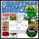 CHRISTMAS LITERACY BUNDLE FOR PK-K