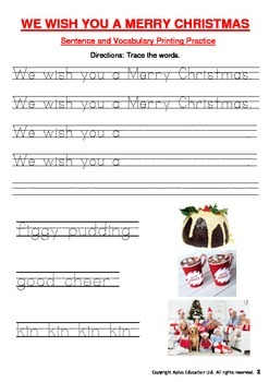 MERRY CHRISTMAS Kindergarten Fun & Educational Christmas Activities