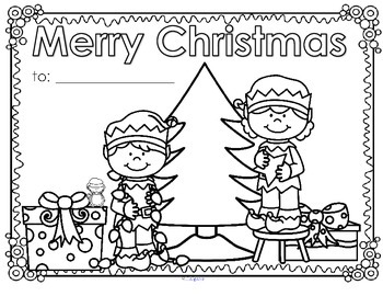 christmas posters or greeting cards 5 free by kidsparkz tpt