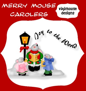 MERRY MOUSE CAROLERS