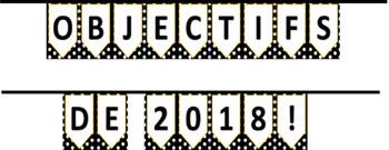 MES OBJECTIFS DE 2018! MENTALITÉ DE CROISSANCE (GROWTH MINDSET)  - (New Years)