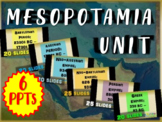 MESOPOTAMIA BUNDLE: 6 parts & 130 slides of fun PPT lessons (with guided notes)