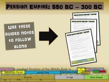 MESOPOTAMIA MEGA BUNDLE: 18 items (PPTs, guided notes, map activities & more)