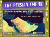 MESOPOTAMIA PART 5: PERSIAN EMPIRE, a fun 25-slide PowerPoint with Guided Notes