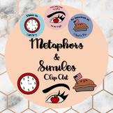 METAPHORS AND SIMILES~ FIGURATIVE LANGUAGE~ Clip art, Sort