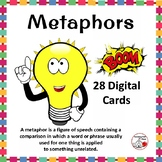 DIGITAL METAPHORS ... Figurative Language: BOOM™  Internet Task Cards