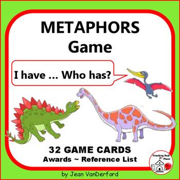 METAPHORS GAME | I have...Who has? | Dinosaur Cards | Figu