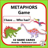 METAPHORS GAME | I have...Who has? | Dinosaur Cards | Figurative Language FUN