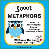METAPHORS  Figurative Language TASK CARDS + DIGITAL BONUS Gr  4-5 Review