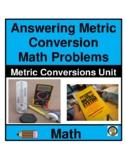 METRIC SYSTEM CONVERSION CHARTS- MATH- NO PREP
