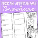 MEXICAN-AMERICAN WAR Research Brochure Template, American History Project