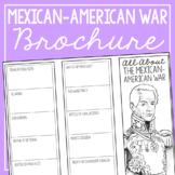MEXICAN-AMERICAN WAR Research Brochure Template, American