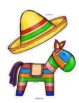 Cinco de Mayo Activities Centers and Printables for Preschool and Pre-K