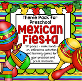 Cinco de Mayo Fiesta Activities Centers and Printables for Preschool and Pre-K