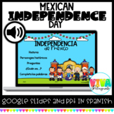 MEXICAN INDEPENDENCE DAY -PPT AND GOOGLE SLIDES BUNDLE (SPANISH)
