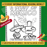 MEXICO - A Study of Mexico Booklet Nonfiction Country Study
