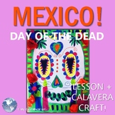 MEXICO! Day of the Dead -  Includes K - 2 Lesson & Easy Prep Ofrenda Craft