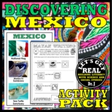 MEXICO: Discovering Mexico Activity Pack