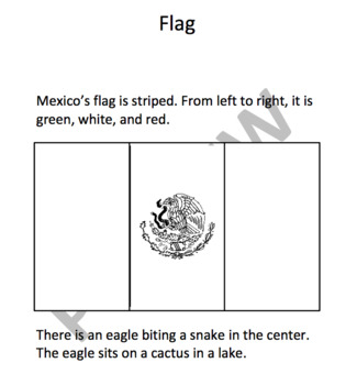 MEXICO - Learn About Mexico – A 16 Page Student Informational Reading Booklet
