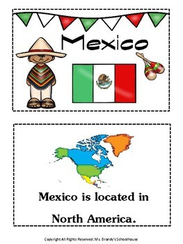 MEXICO Mini Book Country Study