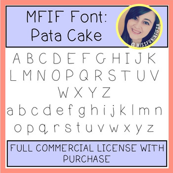MFIF Fonts: Pata Cake (FULL Commercial License)