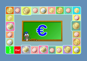 MFL MONEY GAME:  ALL EURO  COINS:
