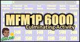 MFM1P Culminating Activity - Simply Amazing