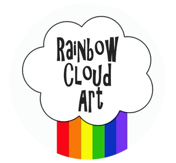Rainbow Cloud Art Shop Logo