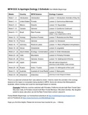 MFW ECC & Apologia Zoology 3 Schedule