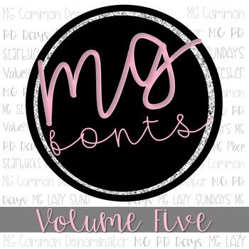 MG Fonts: Volume Five
