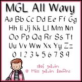 MGL Free Font - All Wavy