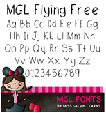 MGL Free Font - Flying Free