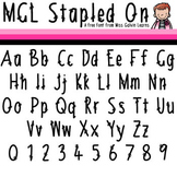 MGL Free Font - Stapled On
