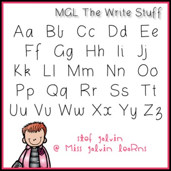 MGL Free Font - The Right Stuff