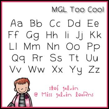 MGL Free Font - Too Cool