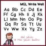 MGL Free Font - Write Well