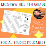 MGraw Hill Fourth Grade Florida Social Studies Unit 3 Fold