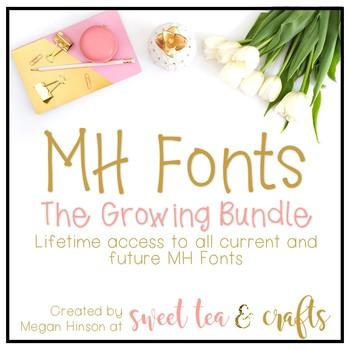 MH Fonts - The Bundle