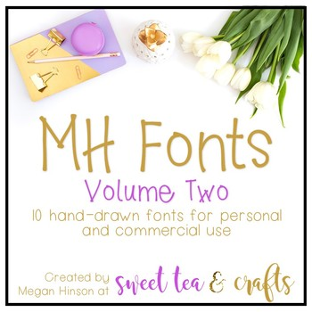 MH Fonts - Volume Two