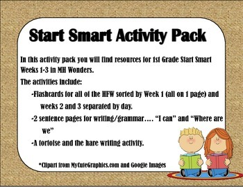 MH Wonders Start Smart Activity Pack