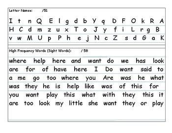 MH Wonders  Unit 9, Week 3 aligned Kindergarten curriculum based assessment
