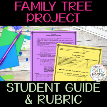Family Project in Spanish - MI ÁRBOL FAMILIAR - Proyecto