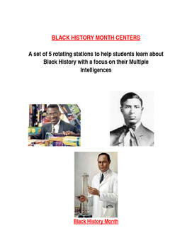 Centers for Black History